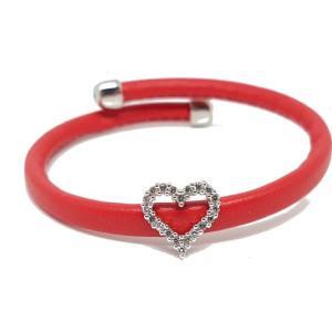 Bracelet rouge coeur