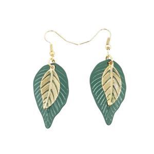 boucles d'oreilles feuille verte nature.jpg