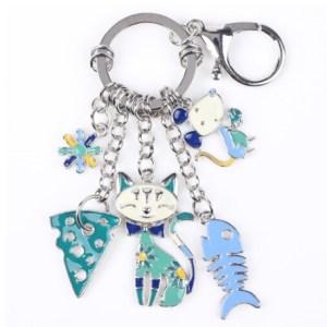 Porte clés chat et souris