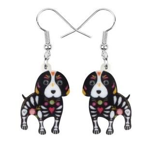 Boucles d'oreilles halloween beagle