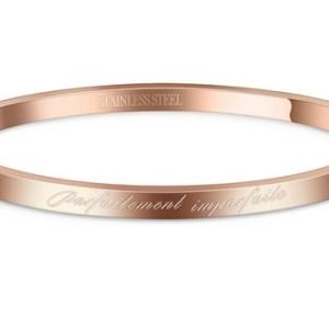 Bracelet message Parfaitement imparfaite RG