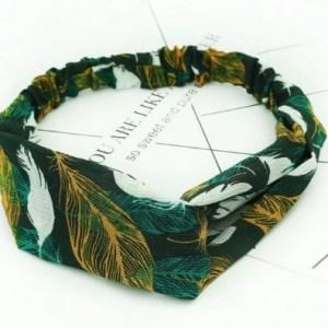headband kaki vert