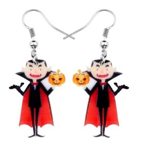 Boucles d'oreilles vampire