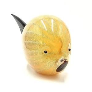 Pesce palla vetro murano