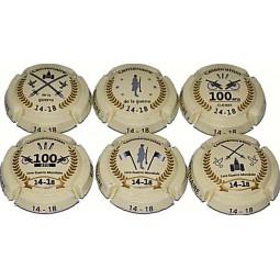 capsules de champagne centenaire 14 18