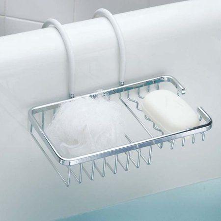 porte savon et eponge pour baignoire