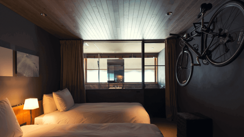 The Hotel Cycle guest room, Onomichi U2, Onomichi, Japan