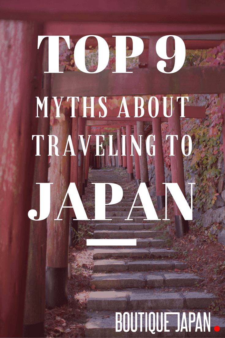 Most visitors to Japan are surprised to find out that these common myths about visiting Japan are grossly exaggerated, or simply not true!