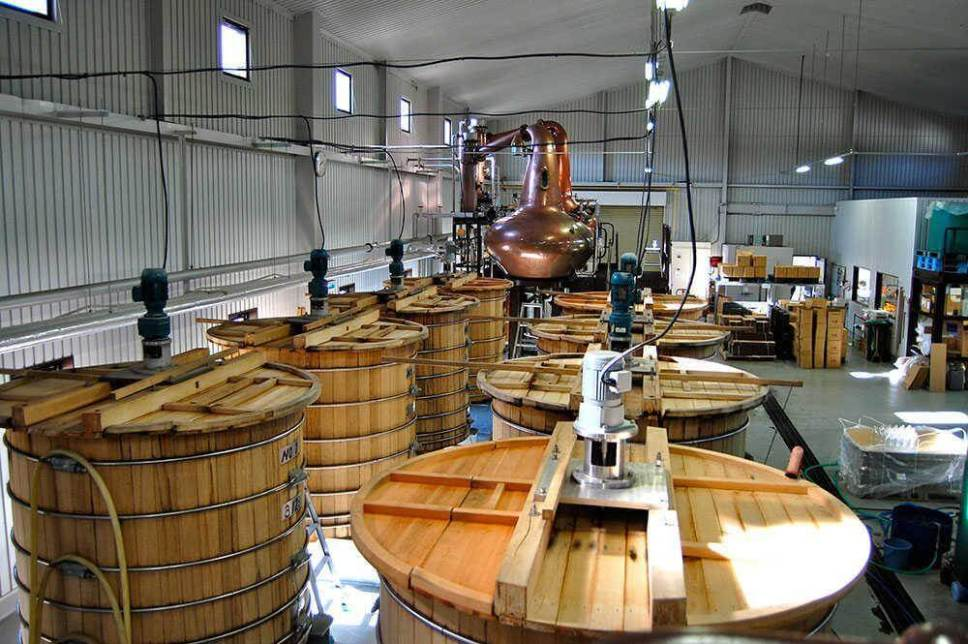 Inside Chichibu Japanese Whisky Distillery