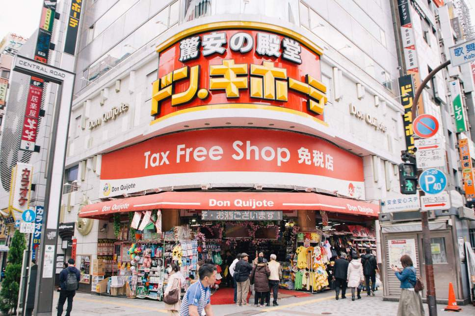 Japan's Don Quijote stores sell everything