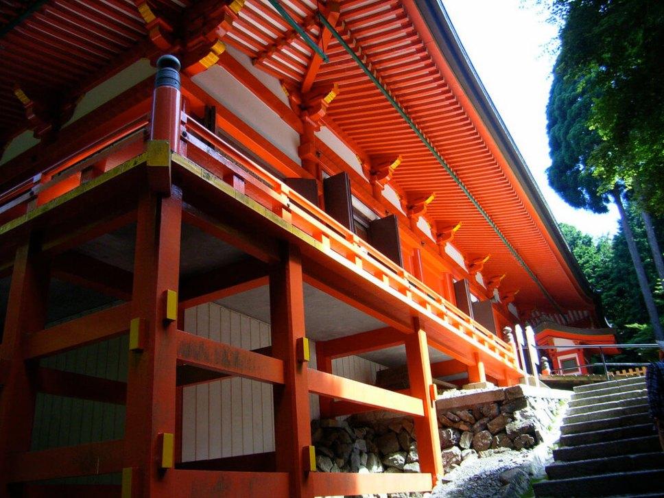 Hieizan Enryaku-ji temple Kyoto