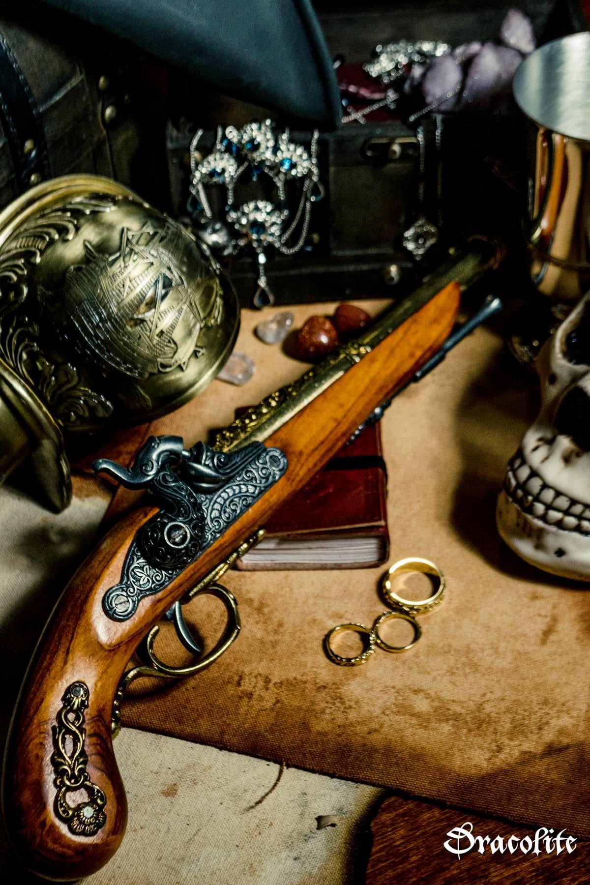 pistolet a percussion francais du 19eme siecle