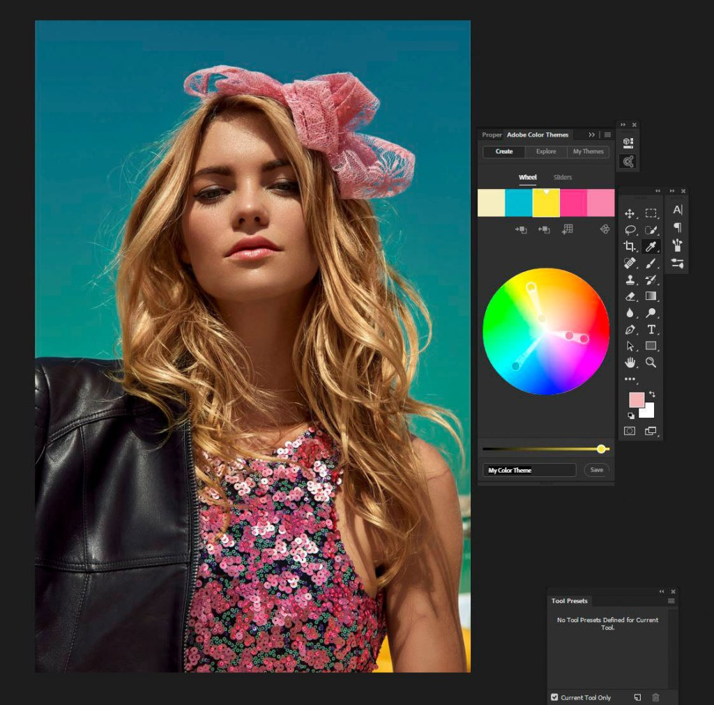 Boutique Retouching color-themes-harpers-bazaar Personal Retouching Master Class