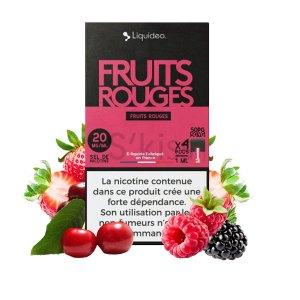 Pods Fruits Rouges – Wpod Liquideo