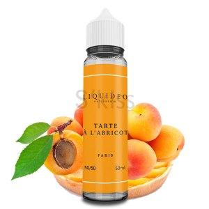 Tarte à l'abricot 50ml – Liquideo Tentation