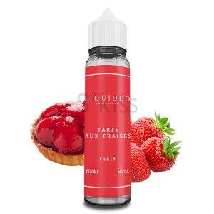 Tarte aux fraises 50ml – Liquideo Tentation