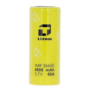 Accu Listman 26650 60A – 4500 mAh