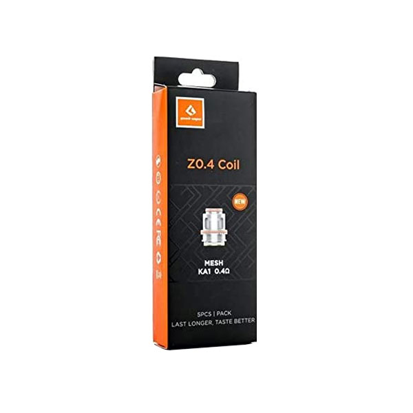 Pack de 5 résistances Z Coil - Geek Vape