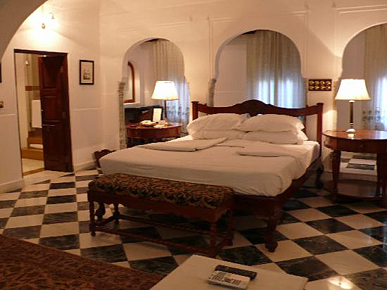 Bedroom at the Samode haveli, Courtesy of TripAdvisor