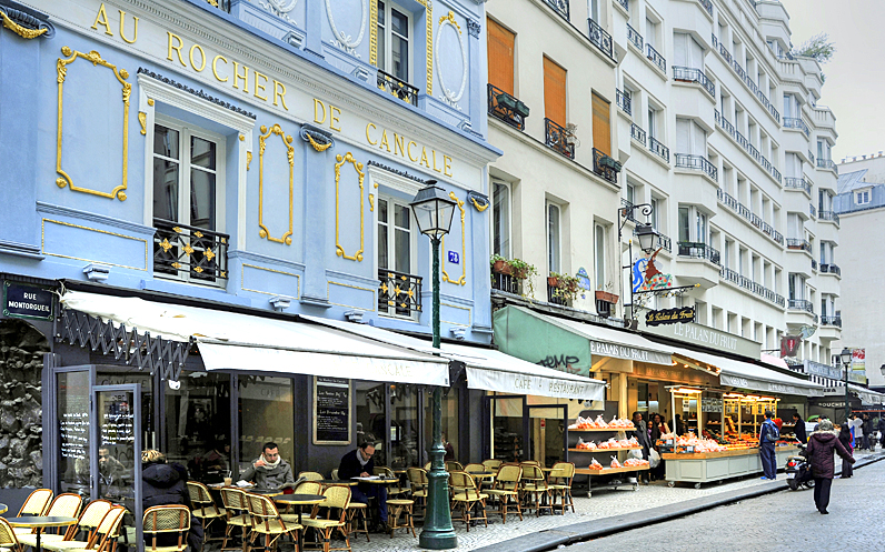 Favourite Streets of Paris: rue Montorgueil, a food lover's delight