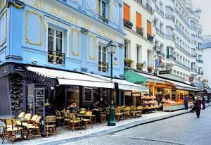 Au Rocher de Cancale, rue Montorgueil, Paris