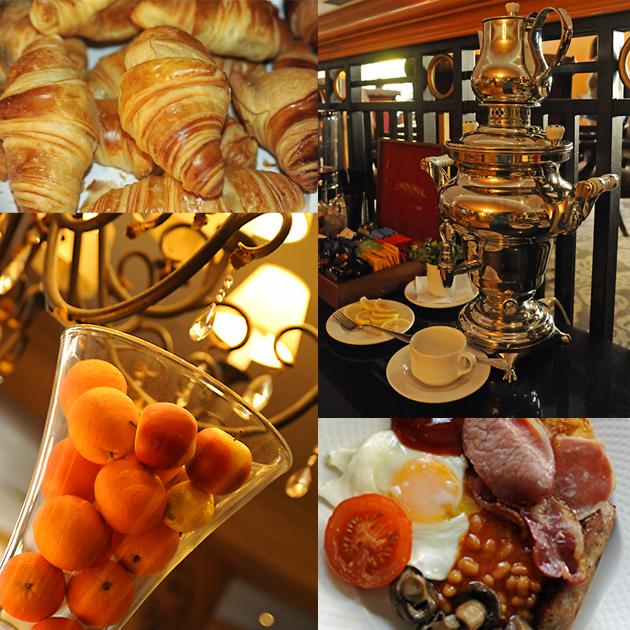 Millenium Gloucester breakfast