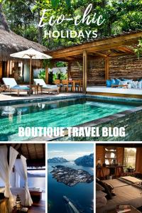 Travel more responsibly on an eco-chic holiday #ecochic #responsibletravel