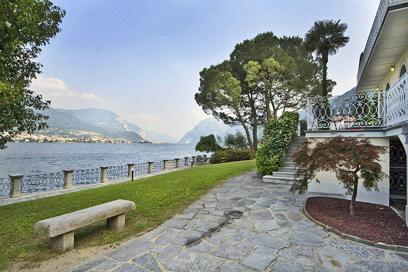 Holiday villa on the shores of Lake Como, Italy