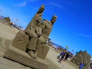 My Better Half - a crowd fave at Parksville's sandcastle contest