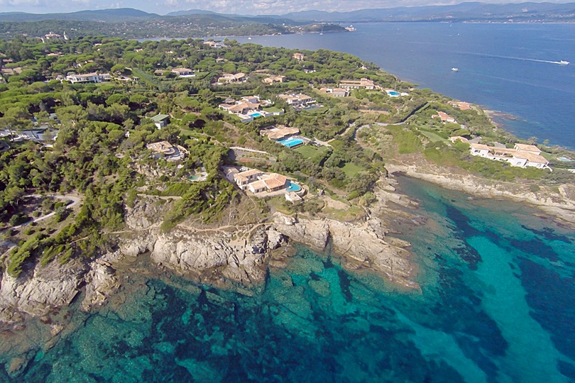 Luxury villas on the French Riveria - luxury villa st tropez