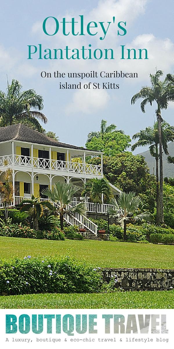 Ottley's Plantation Inn, the perfect caribbean retreat, on the unspoilt island of St Kitts