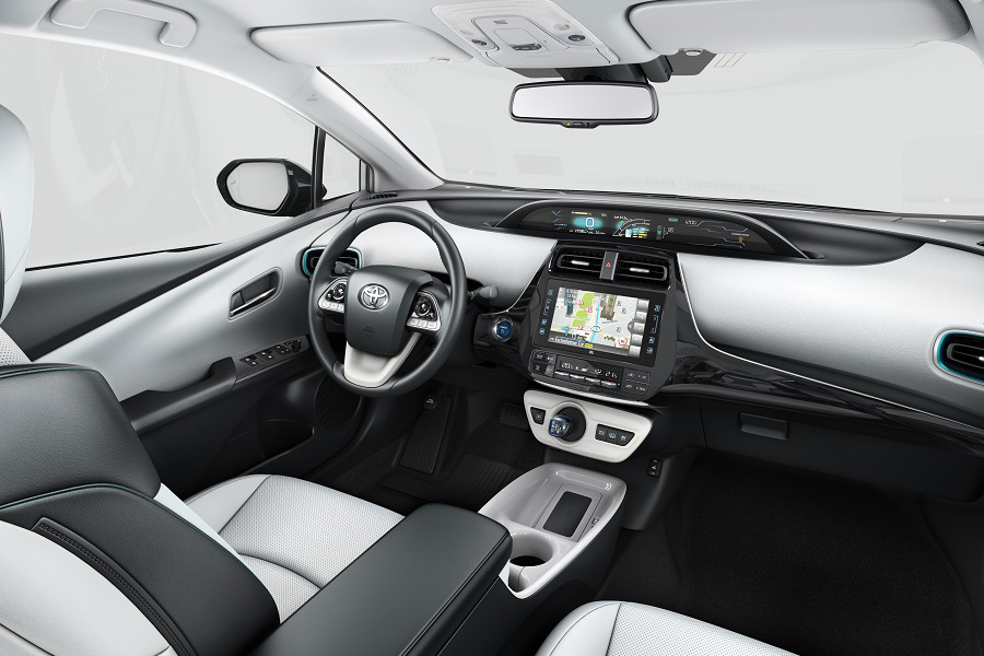 Inside the Prius Plug-in Hybrid