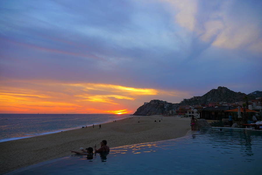 Grand Solmar sunset 900x600. Photo by Johanna Read TravelEater.net