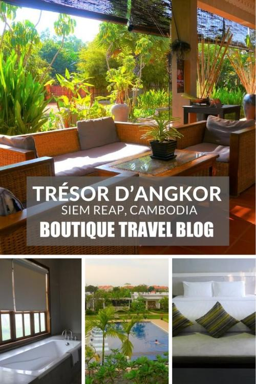 Boutique Hotel Review: Trésor d'Angkor, #SiemReap, #Cambodia