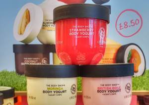 New Body Yogurts from the Body Shop