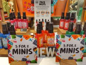 New Face Mists from the Body Shop