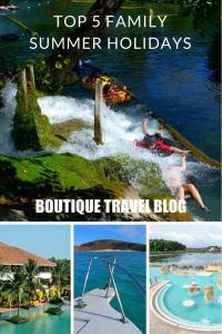 Top 5 luxury family summer holidays around the world