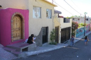 Painted streets La Paz-agreat choice for a family summer holiday