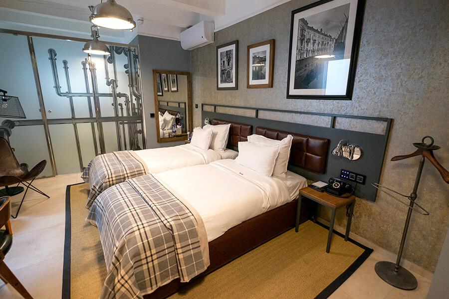 Comfort twin bedroom at The Saint John, Malta