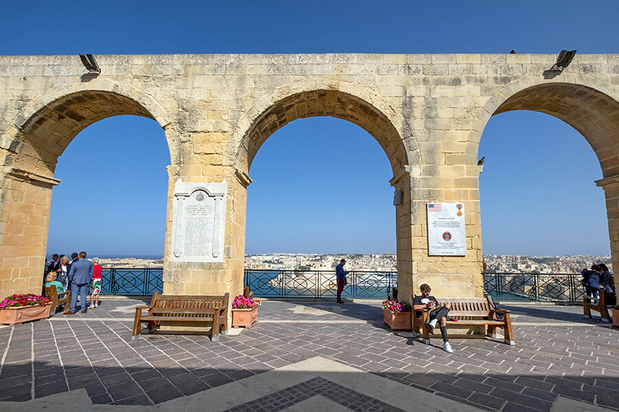 Bakkarra Gardens, Valletta, Malta