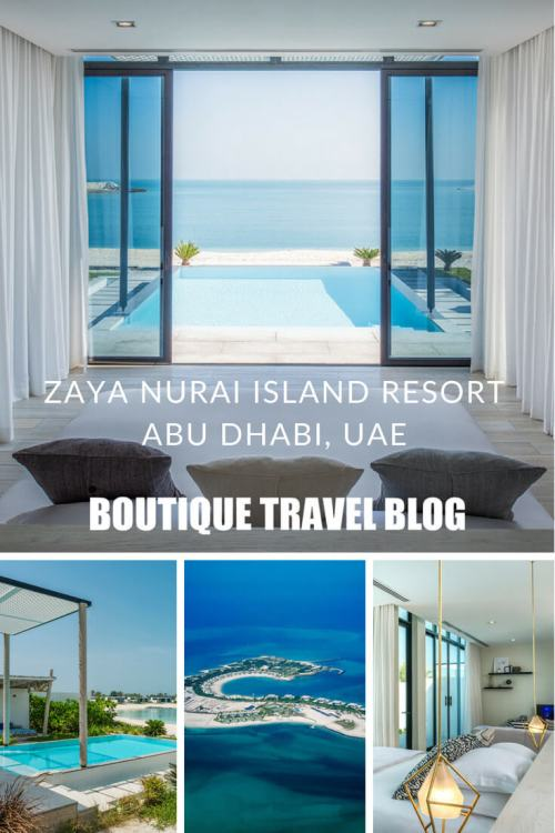 Zaya Nurai Island Resort in Abu Dhabi, nicknamed the Maldives of the Emirates