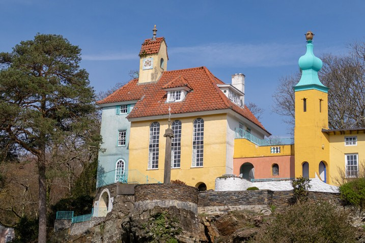 Quirky hotels in the UK | Hotel Portmeirion, Wales
