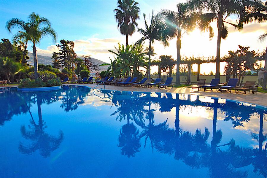 Pool at Quinta Jardins do Lago, Funchal, Madeira