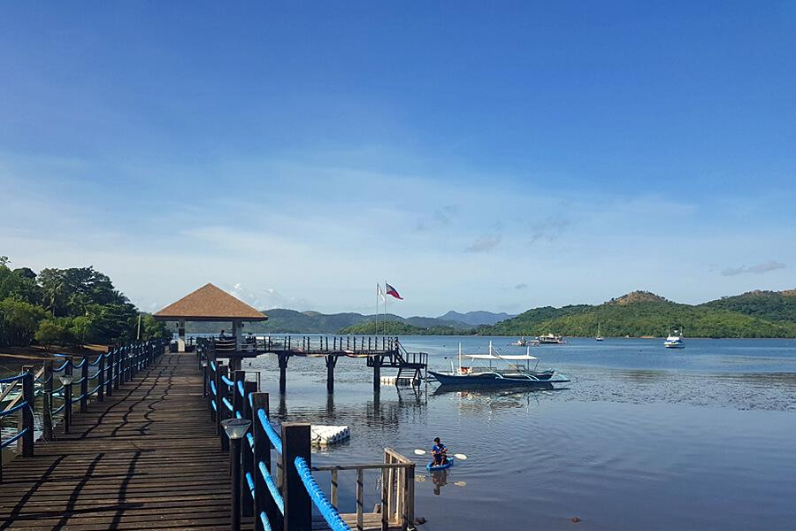 Bacau Bay Resort Coron Philippines - pier
