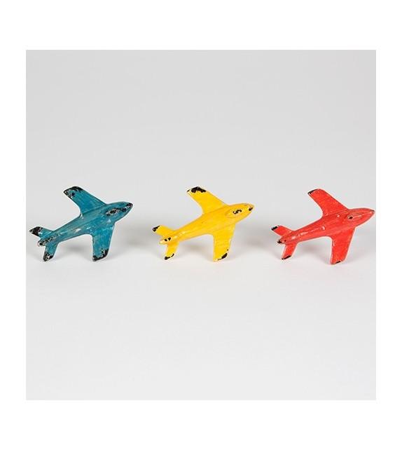 Boutons De Meubles 3 Avions Colors Pour Enfant Boutons