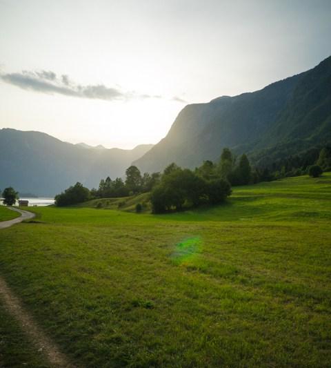 Slovénie : Lac de Bohinj