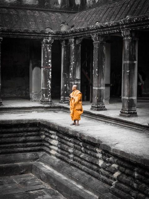 Temple de Angkor Wat au Cambodge