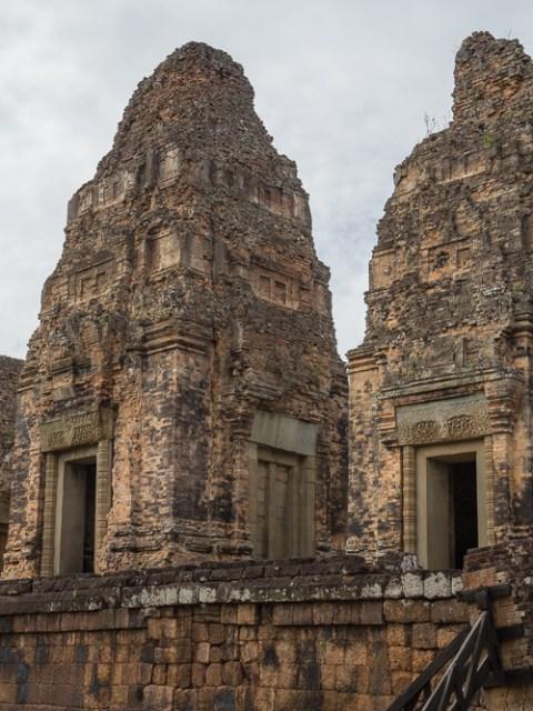 Temple de East Mebon au Cambodge