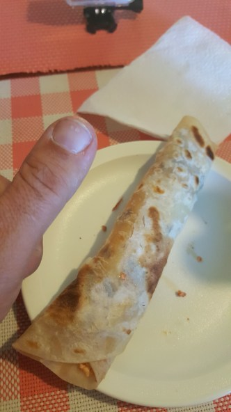 Another thumb sized burrito