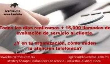 Bou Vermell Auditoria Telefónica. Atención a Cliente